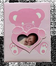 Album dětské 10x15 pro 200 fotek lepené Wonderland růžové
