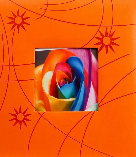 Klasické fotoalbum 100 stran Colorful oranžový