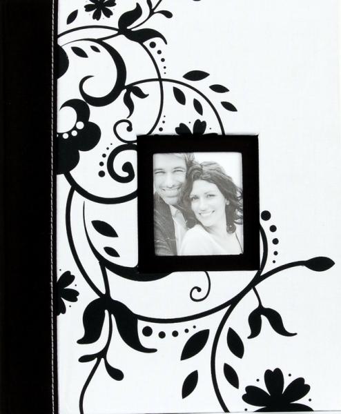 Svatební fotoalbum 20 stran Decorative bílé