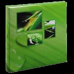 Klasické fotoalbum 100 stran Singo zelené