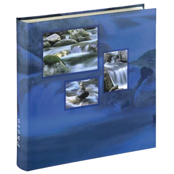Klasické fotoalbum 100 stran Singo modré