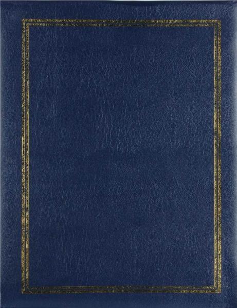 SAMOLEPÍCÍ album 40 stran - Vinyl modrý