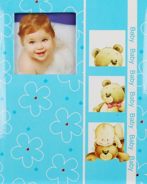 SAMOLEPÍCÍ album 40 stran - Tender toy - modré