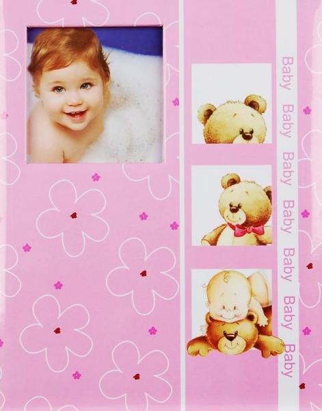 SAMOLEPÍCÍ album 40 stran - Tender toy - růžové
