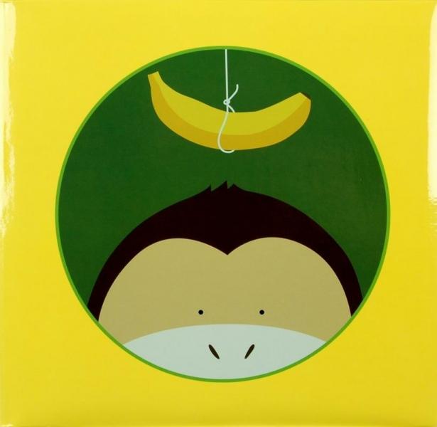 Album klasické dětské 100 stran - Jungle ŽLUTÝ