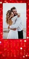 Luxusný dvojmesačný kalendár na výšku