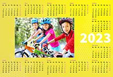 Ročný fotokalendár veľkosť A4