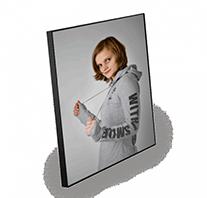 CHROMALUXE foto panel drevený (MDF), 18x27cm extra LESKLÝ