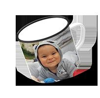 Keramický plecháčik s fotografiou 250 ml