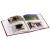 Fotoalbum 10x15 pre 200 fotiek Orient Star vínové