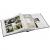 Klasické fotoalbum 100 strán Birmingham burgund