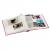 Klasické fotoalbum 100 strán Singo ružové
