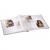 Klasické fotoalbum 60 strán Curly modré
